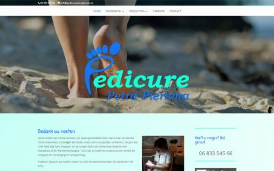 Website Pedicure Petra Piersma